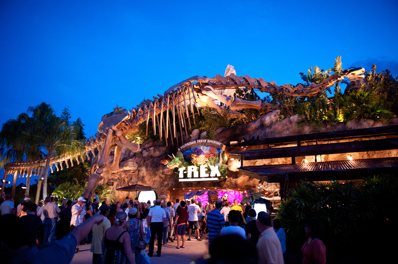 T-Rex, Downtown Disney, Disneyland, Walt Disney World, Florida, Disney, Dinosaur, Restaurant, Food, Shop