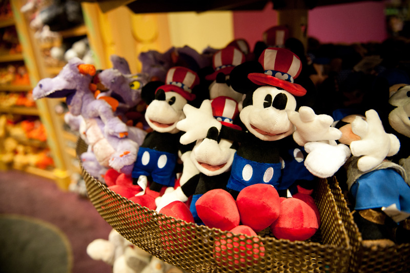 Magic Kingdom, Disney, Walt Disney, Disneyland, Disney World, Florida, Toys, Micky Mouse, Teddys, Plush, Shop