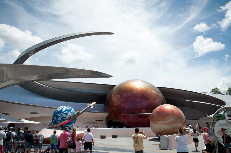 Epcot, Disney, Walt Disney, Disneyland, Florida, Disney World, Mission Space, Space, Planets, Ride, Attraction