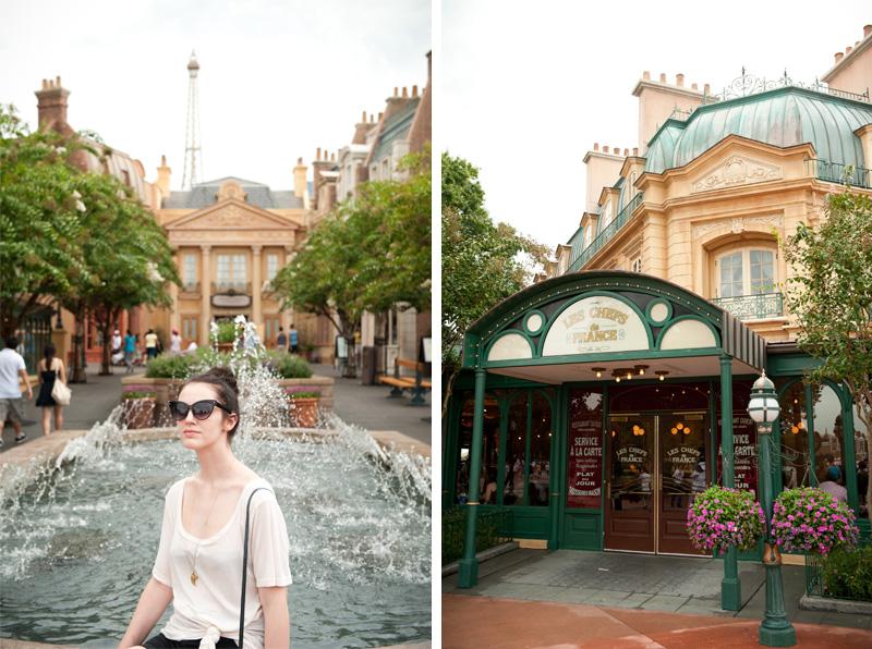 Epcot, Disneyland, Disney, Walt Disney, Florida, Disney World, World Showcase, France, Eiffel Tower, Bistro,