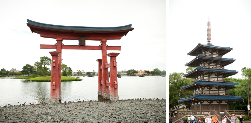 Epcot, Disneyland, Disney, Florida, Disney World, Walt Disney, World Showcase, Japan, Buildings, Architecture, Gate, Bridge, Gateway, torii