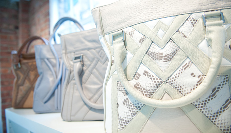 Bracher Emden, White, Cream, Grey, Bags, Handbags, Tote, Unique, Handmade, Large, Big, Textured, Quilted, Bora Aksu, Leather, Snakeskin, Geometric