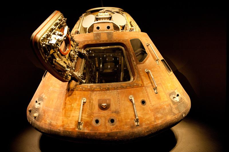 Kennedy Space Center, Cape Canaveral, Florida, Rocket, Space, Shuttle, NASA, Apollo 14, Capsule