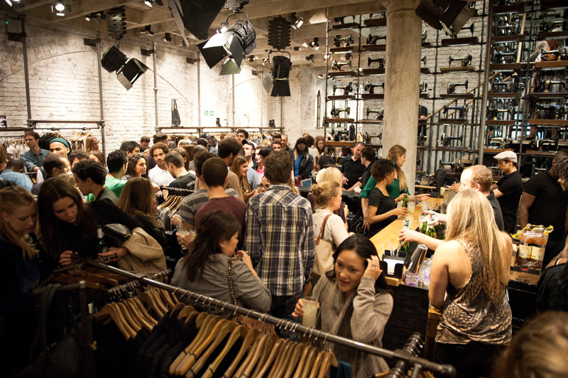 All Saints, Fashion's Night Out, FNO, 2012, Collection, Autumn, Winter, Party, New Season, Store
