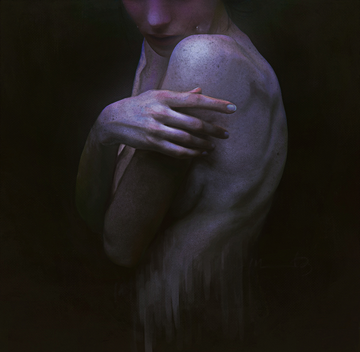Isabella Morawetz, Maelstrom, Digital, Painting, Dark, Photoshop, Wacom