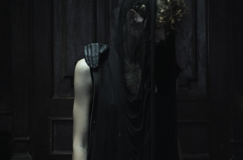 Konstantin Kofta 'Hug' collection hug hands human anatomy backpack bag. Dark style, gothic, indepenent designer, lookbook