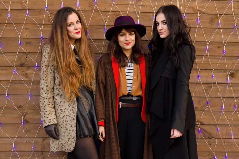 Fashion bloggers Kylie of Memoir Mode, Victoria of Style Marmalade & Stephanie of FAIIINT.