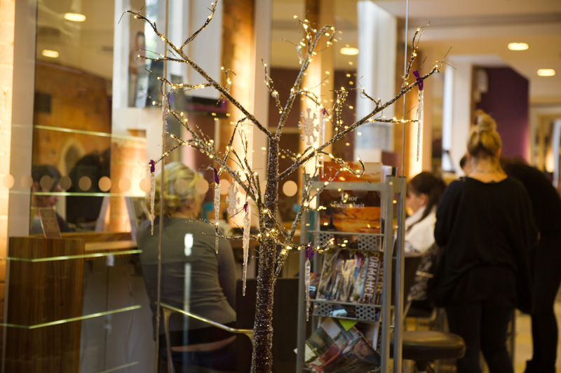 FAIIINT Creme Hair & Beauty Salon Oakham Leicestershire, Christmas decorations tree