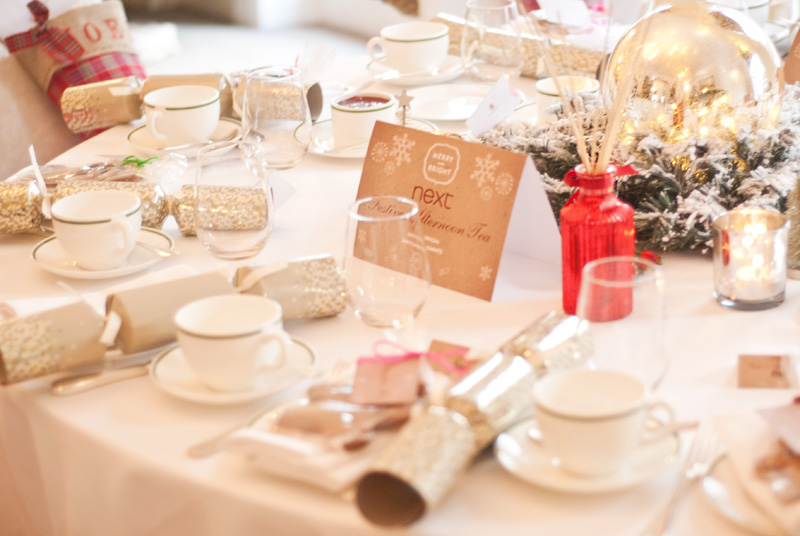 Next Christmas fashion blogger afternoon tea at Browns Hotel London