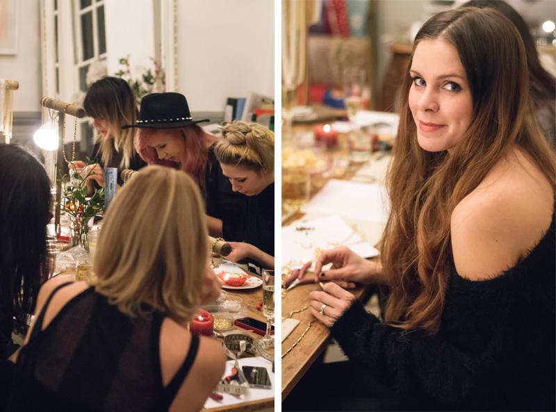 FAIIINT Cinderela B Jewellery fashion blogger workshop, Kylie Memoir Mode