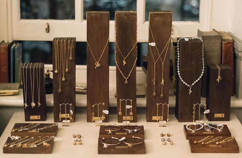 FAIIINT Cinderela B Jewellery fashion blogger workshop
