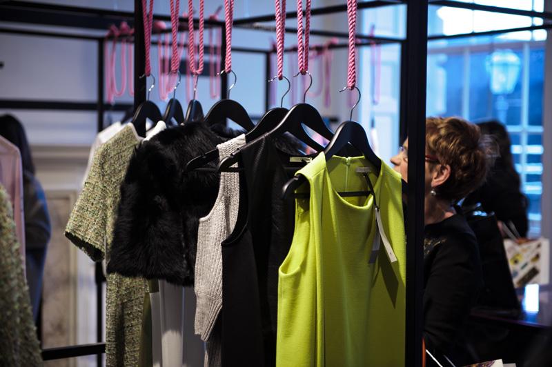 London fashion weekend designer shopping, Somerset House.