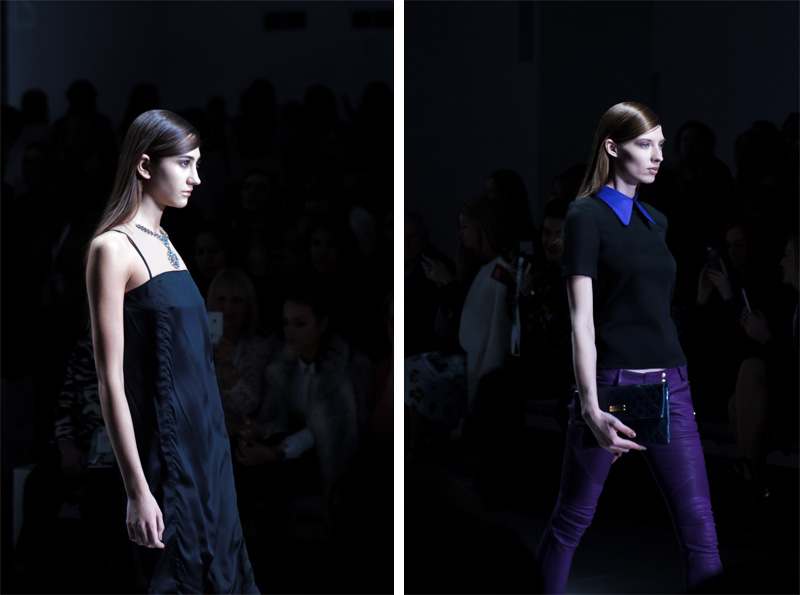 London fashion weekend designer shopping, Somerset House. Trend catwalk shop with The Outnet.