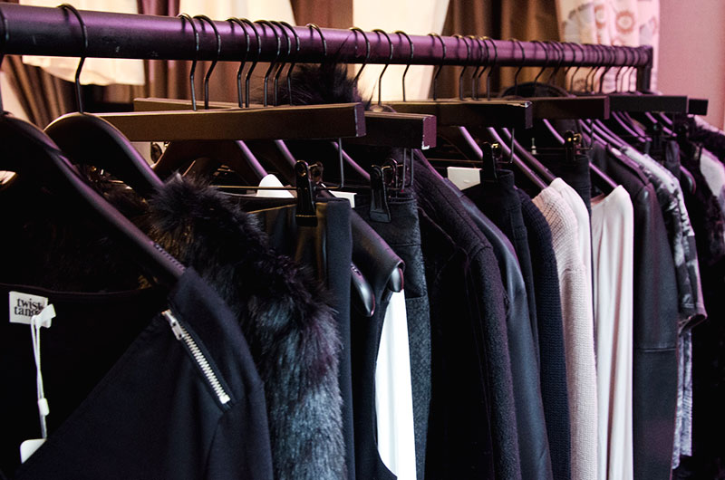 FAIIINT Good Results PR AW14 press day Twist & Tango clothing tailoring, knitwear & faux fur
