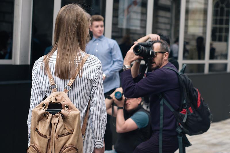 London Fashion Week Spring Summer 2015 Somerset House Street Style