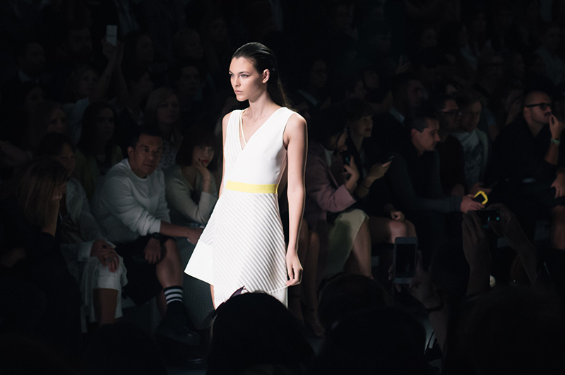 David Koma Spring Summer 2015 Collection at London Fashion Week by FAIIINT