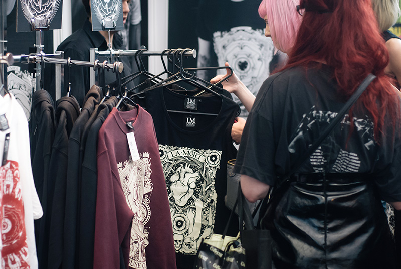 FAIIINT London Edge 2014 the new alternative fashion trade show La Mort graphic streetwear sweatshirts, hoodies & tees clothing