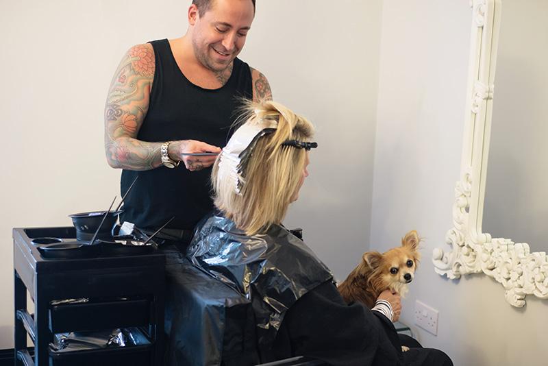 FAIIINT Malcolm Murphy Hair award winning Leicester hairdressers salon