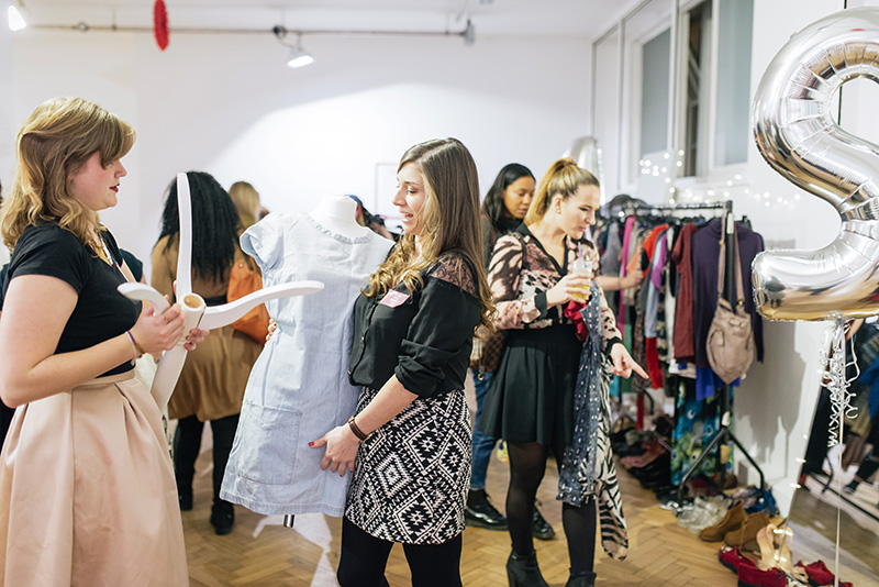 FAIIINT Voucher Codes fashion blogger Swap Shop event at The Music Rooms London 2014