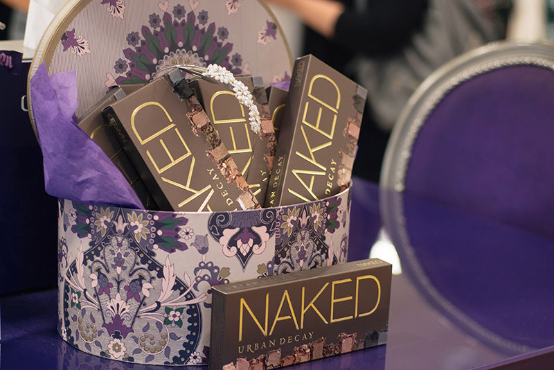 Highcross Leicester Spring Beauty Fix Urban Decay Naked Palette Gift Box