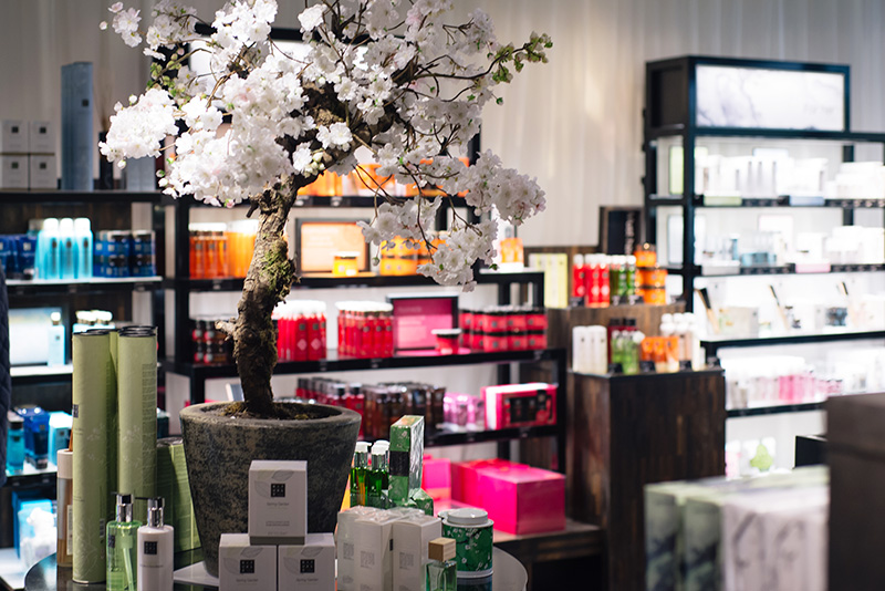 Highcross Leicester Spring Beauty Fix Rituals Store