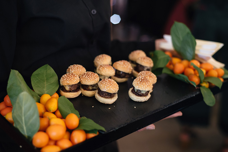 FAIIINT at Next #shoeboxjukebox fashion blogger event shoes party with Company Magazine. Mini burgers.