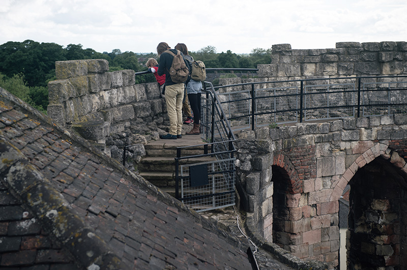 FAIIINT York weekend break. Looking over the walls of Clifford's Tower.