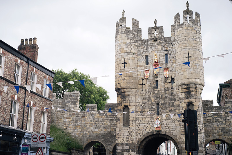 FAIIINT York weekend break. Micklegate bar.