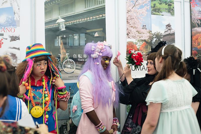 FAIIINT Hyper Japan Festival 2015 at The o2 London. Pretty pastel Japanese fashion, decora, lolita.