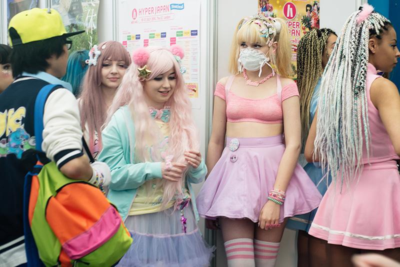 FAIIINT Hyper Japan Festival 2015 at The o2 London. Pretty pastel japanese fashion.