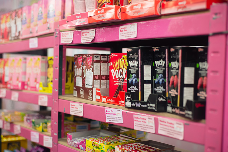 FAIIINT Hyper Japan Festival 2015 at The o2 London. Japanese candy and sweets, pocky.