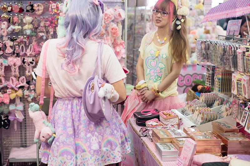 FAIIINT Hyper Japan Festival 2015 at The o2 London. Dreamy Bows pretty sweet pastel lolita fairy kei fashion.