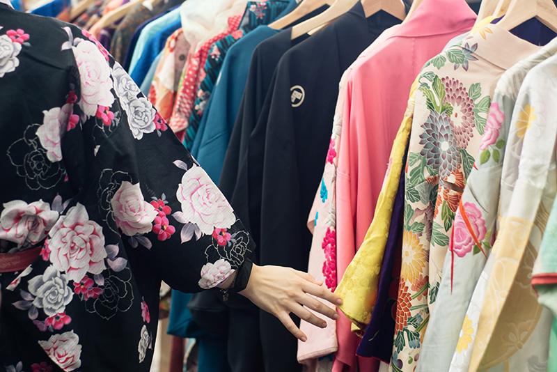FAIIINT Hyper Japan Festival 2015 at The o2 London. Traditional kimonos.