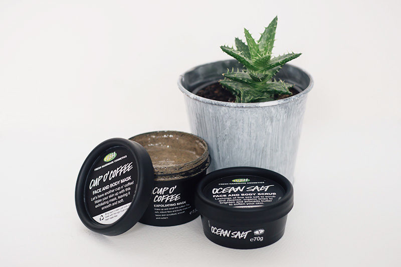 Lush Cup O' Coffee Mask & Ocean Salt Scrub