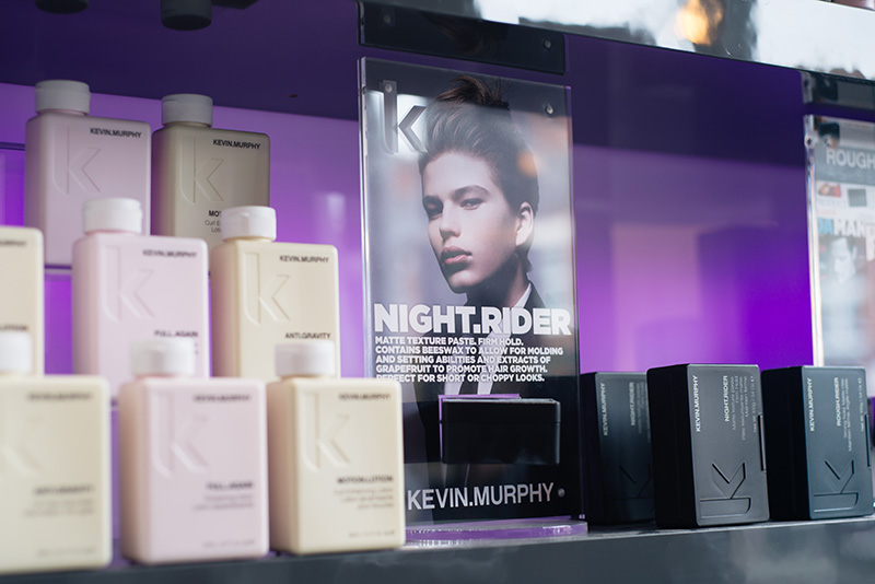 Emma Brown Hair Hairdressers Salon Clarendon Park Road Leicester. KEVIN.MURPHY products.