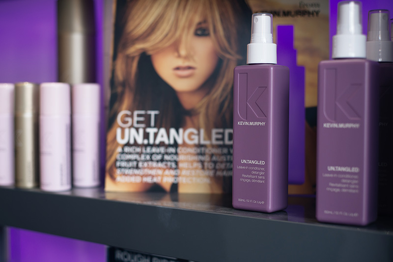 Emma Brown Hair Hairdressers Salon Clarendon Park Road Leicester. KEVIN MURPHY products.