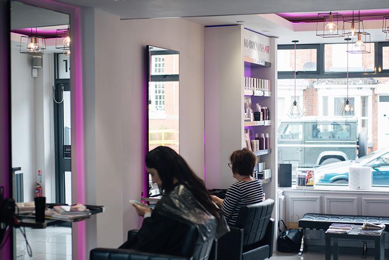 Emma Brown Hair Hairdressers Salon Clarendon Park Road Leicester.