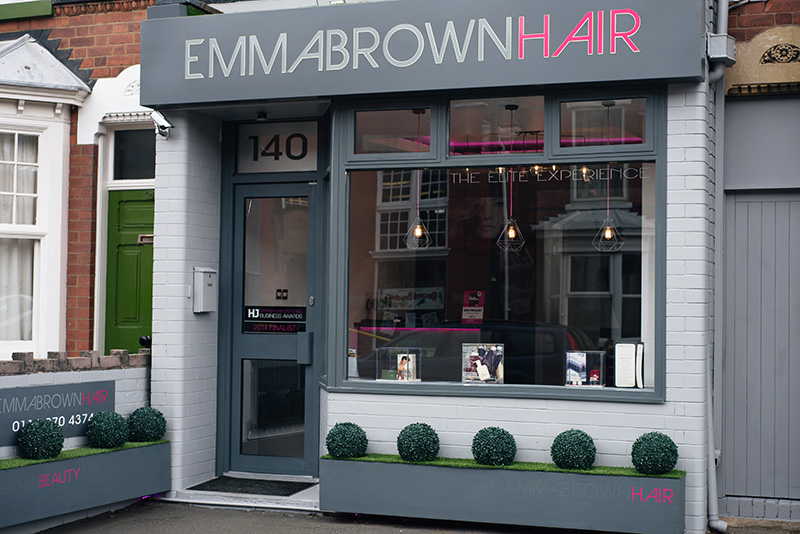 Emma Brown Hair Hairdressers Salon Clarendon Park Road Leicester.