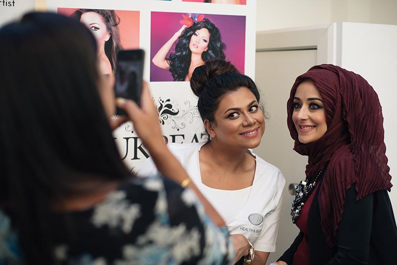 Artist of Makeup by Zukreat at Femi Health & Beauty salon Leicester.