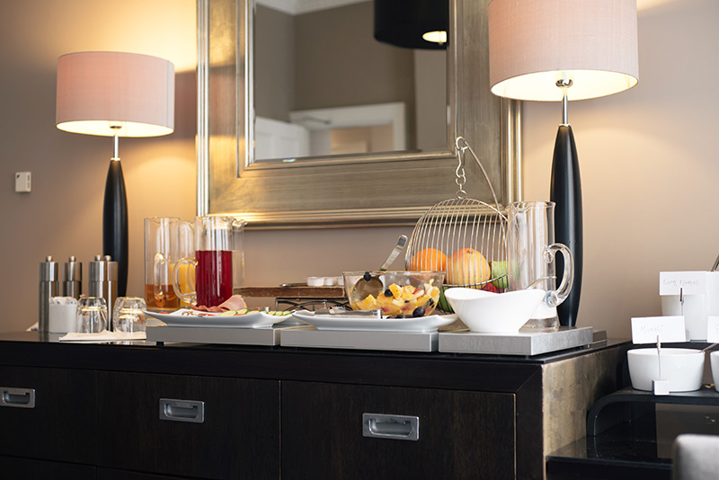 FAIIINT blogger Montagu Place Marylebone London Boutique Hotel. Continental breakfast.