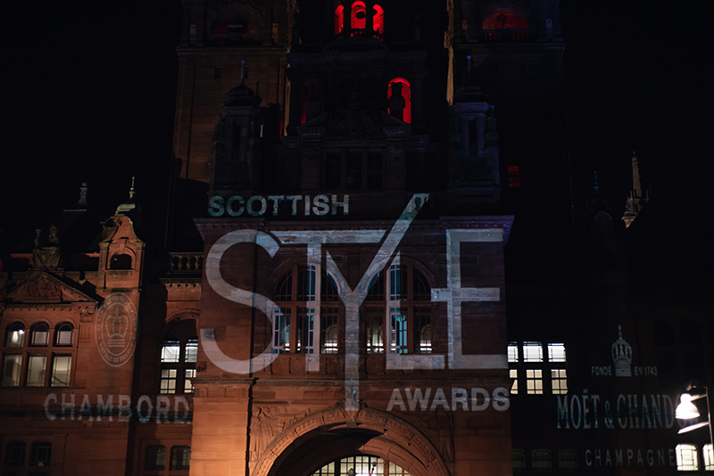 FAIIINT Scottish Style Awards 2015 at Kelvingrove art gallery and museum in Glasgow.