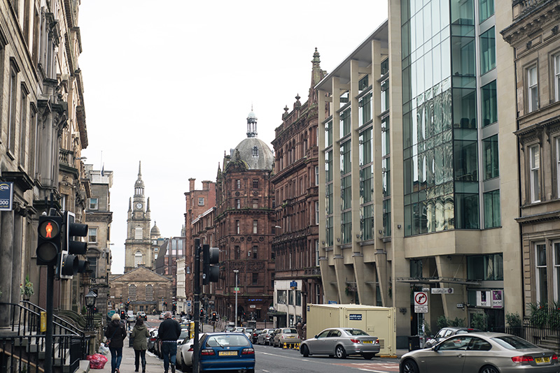 FAIIINT Glasgow architecture street and buildings