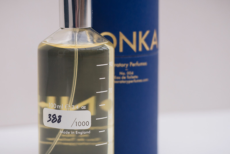 Laboratory Perfumes limited edition Tonka fragrance Eau De Toilette from Tessuti.