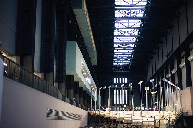 Tate Modern London Abraham Cruzvillegas Empty Lot Turbine Hall installation 2015.