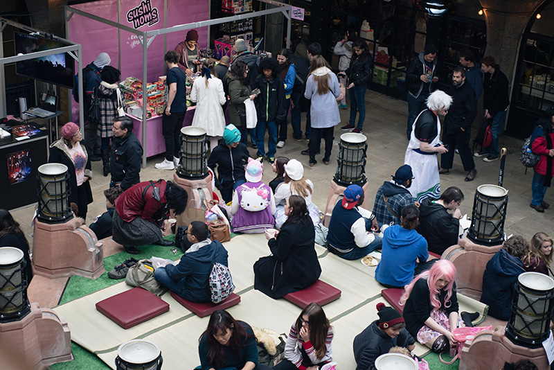 Hyper Japan Christmas Market 2015 at Tobacco Dock London.