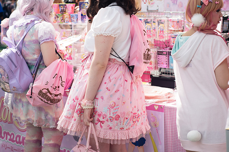 Hyper Japan festival 2016 Kensington Olympia. Kawaii cute lolita outfits.