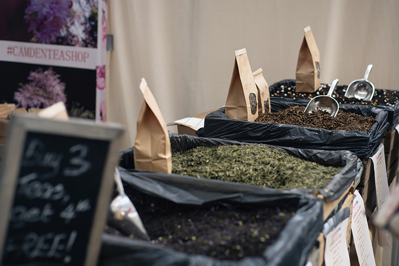 Hyper Japan festival 2016 Kensington Olympia. Teas from Camden Tea company.