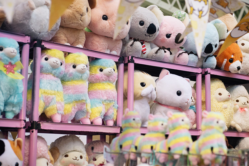 Hyper Japan festival 2016 Kensington Olympia. Kawaii cute stuffed plushes Alpacasso.