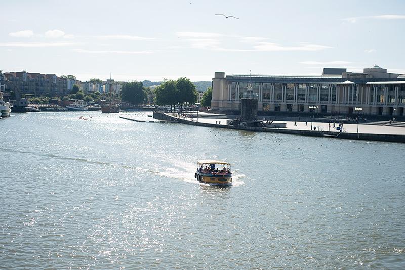 Bristol harbour landscape