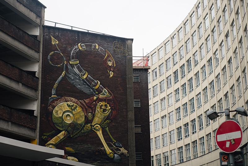 Bristol Upfest street art festival.